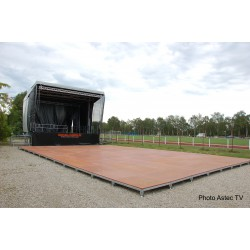 Plancher de bal country