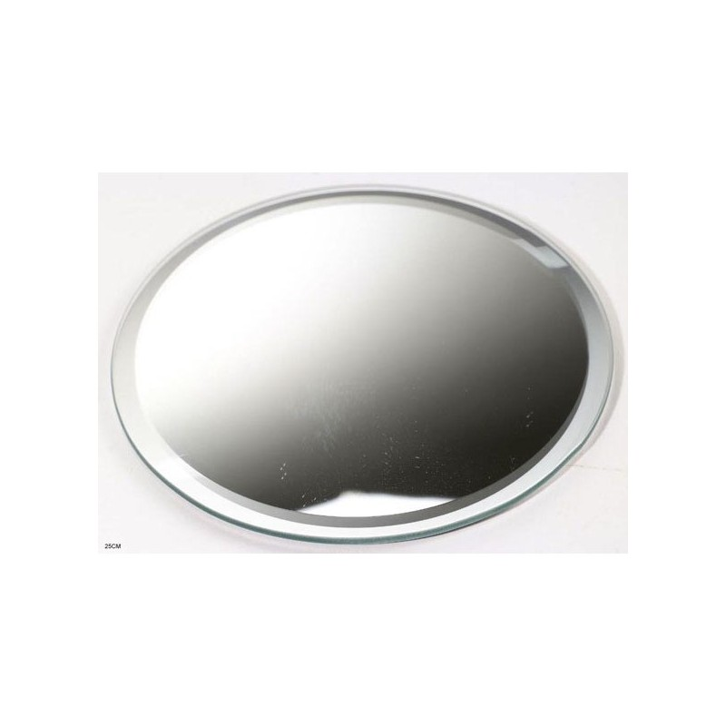 miroir de table rond 30 cm sabannes r ception. Black Bedroom Furniture Sets. Home Design Ideas