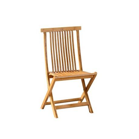 Chaise VEGANE pliante