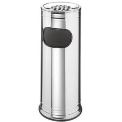 Cendrier poubelle chromé PLATINIUM