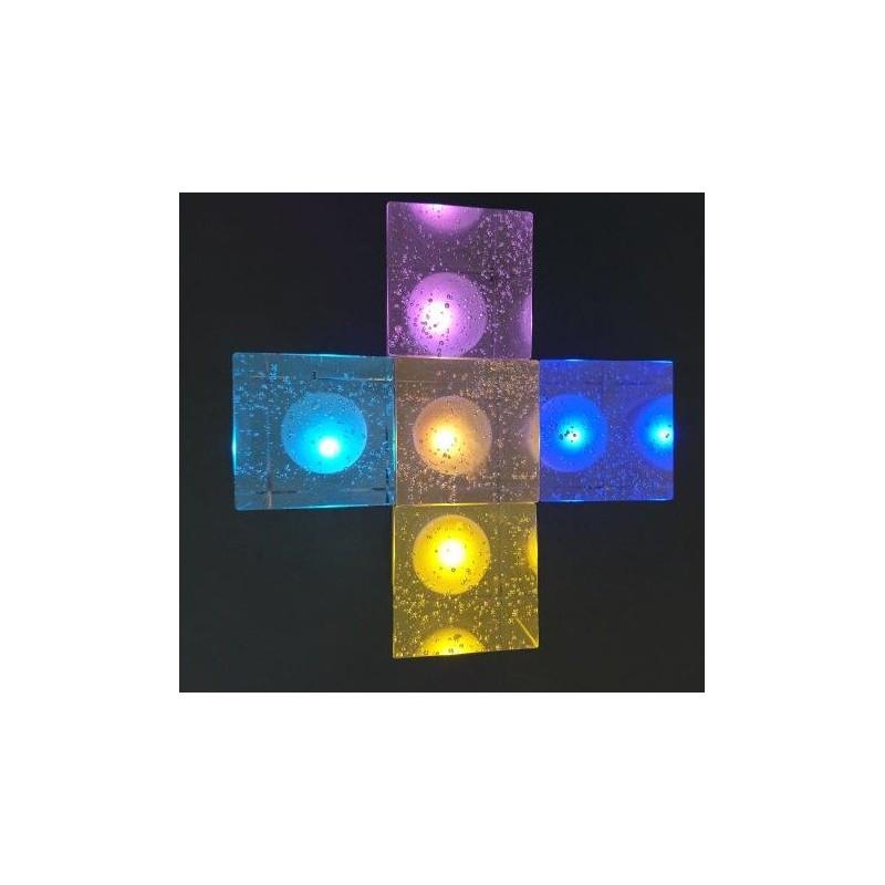 lampe byblos multicolore sabannes r ception. Black Bedroom Furniture Sets. Home Design Ideas