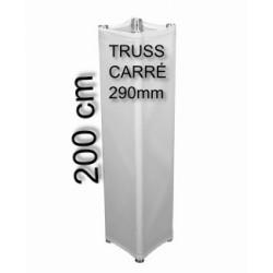 HOUSSE DE TOTEM TRIANGULAIRE LYCRA 200 CM