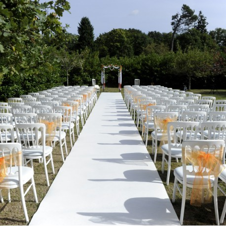 ALLEE NUPTIALE BLANCHE