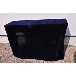 Nappe Europ noire 120x40 cm