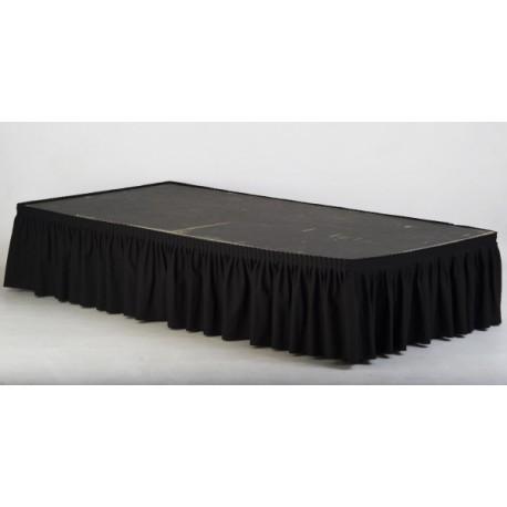 Skirting noir 8.64 ml H 59 cm