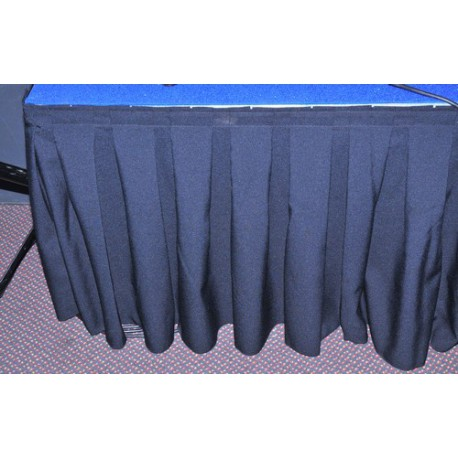 Skirting noir 8.64 ml H 79 cm