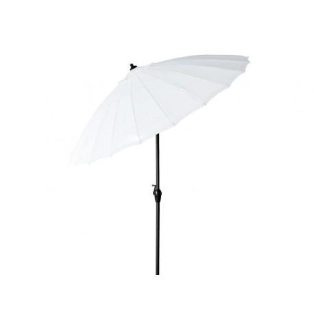 Parasol ombrelle blanc
