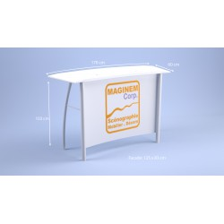 Desk haut Flamingo blanc