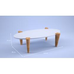 Table basse Pivert altu