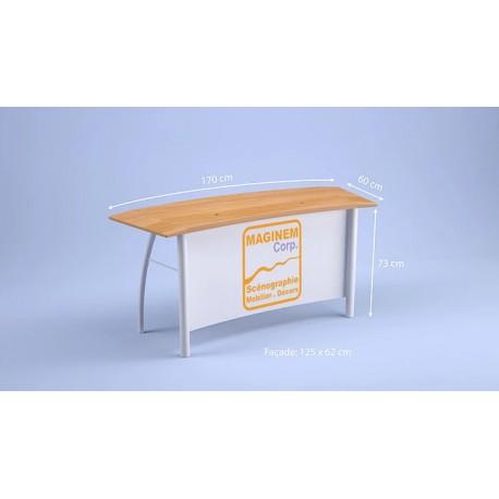 Desk bas Flamingo