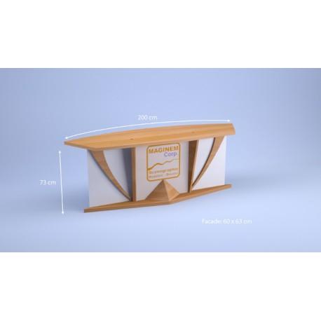 Desk Goeland 2 personnes