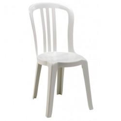 Chaise ATHENA PVC blanche