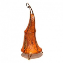Lampe en peau orientale 80/100 cm