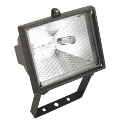 Projecteur quartz 300w / 230v - noir