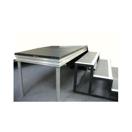 escalier prolyte 1 4 marches sabannes r ception. Black Bedroom Furniture Sets. Home Design Ideas
