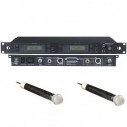 Ensemble de 2 micros HF SHURE Marcad Diversity MK2