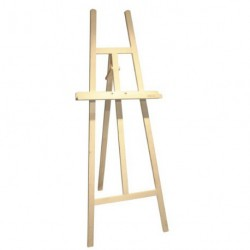 Chevalet en bois clair 168 cm