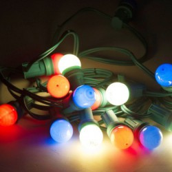 Guirlande lumineuse multicolore 9 ml