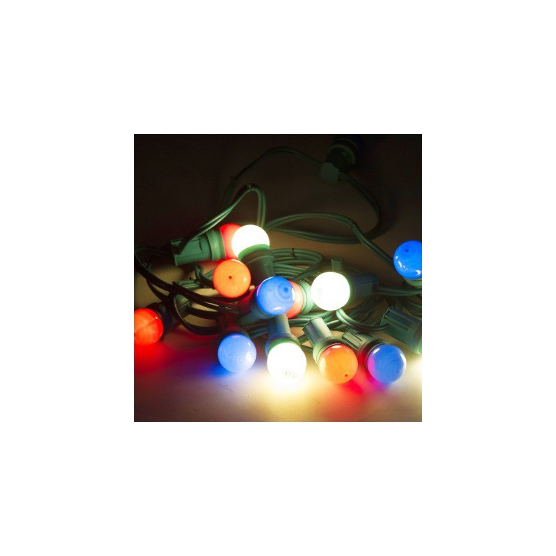 guirlande lumineuse multicolore sabannes r ception. Black Bedroom Furniture Sets. Home Design Ideas