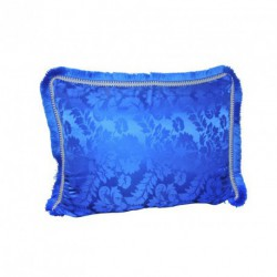 Housse de coussin bleu Majorelle