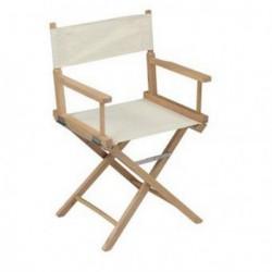 Chaise metteur en scène ADONIS écrue