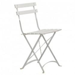 Chaise pliante APHRODITE blanche