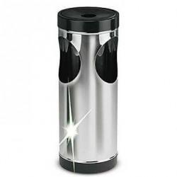 Cendrier / poubelle chromé
