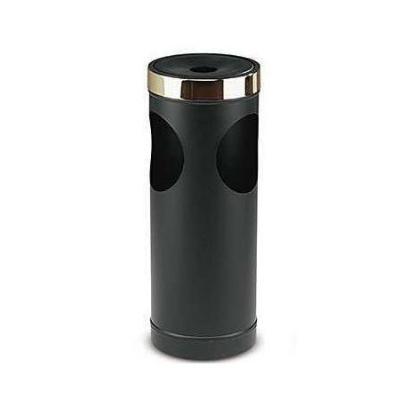 Cendrier / poubelle noir