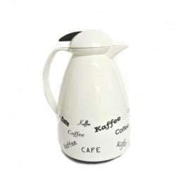 Pichet à café blanc