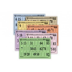 Cartons de loto / bingo