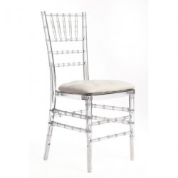Chaise PENELOPE galette blanche