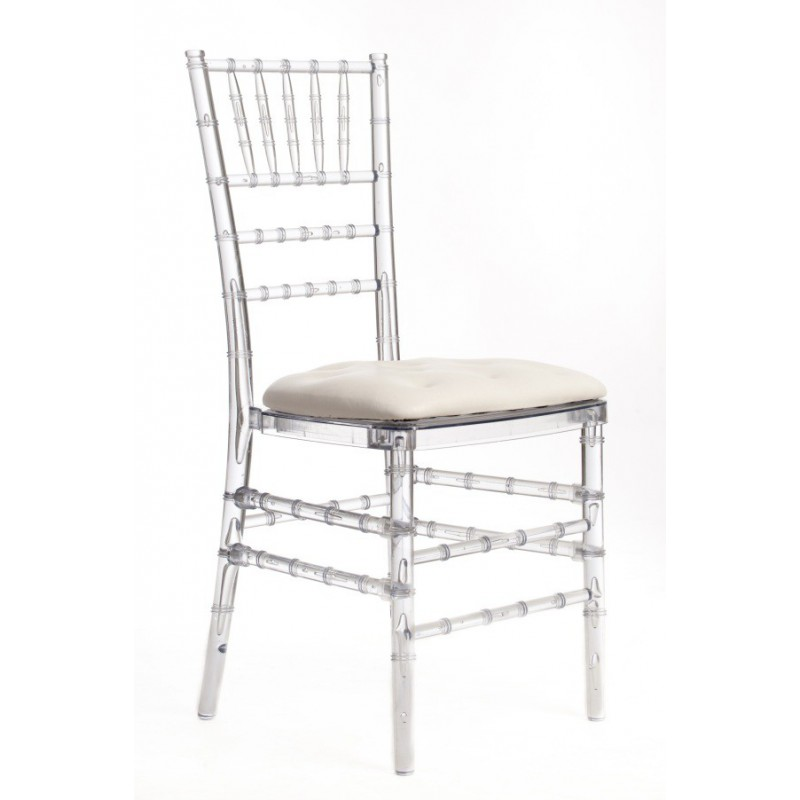 Chaise penelope galette blanche sabannes r ception - Galette de chaise originale ...