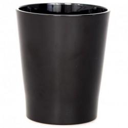 Pot en céramique noir