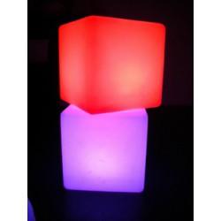 Cube lumineux 40 cm leds