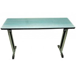 Table EUROPE 120 cm bleu ciel