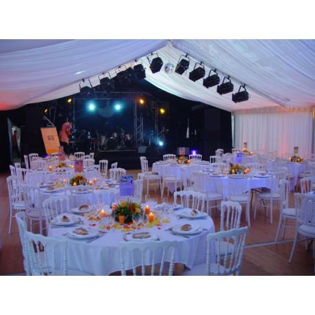 Très bien Tente de réception largeur 15 m - Sabannes Réception @HH_88