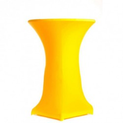 Housse mange-debout jaune