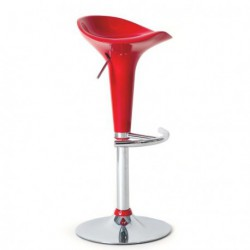 Tabouret de bar XENON rouge