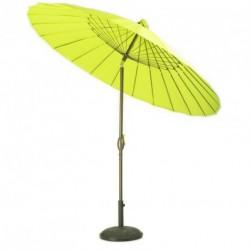 Parasol ombrelle anis