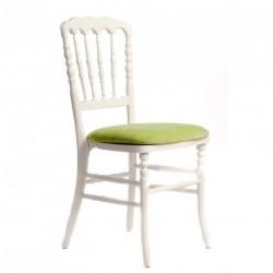 Chaise ZEUS blanc/anis