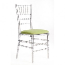 Chaise PENELOPE galette anis