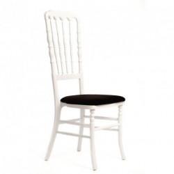 Chaise ZEUS géante blanc/noir