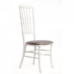 Chaise ZEUS géante blanc/gris