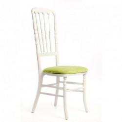 Chaise ZEUS géante blanc/anis