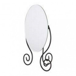 Miroir de table ovale