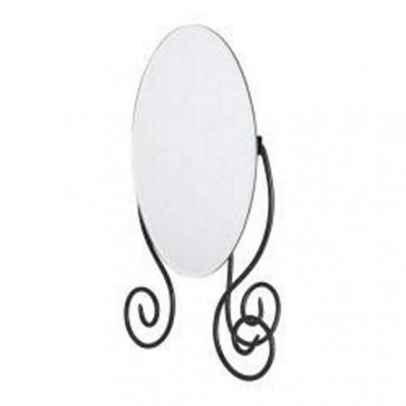 Miroir de table ovale
