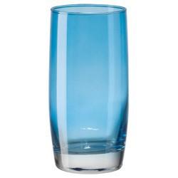Verre à eau turquoise