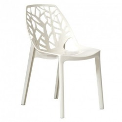 Chaise MESSALINE blanche