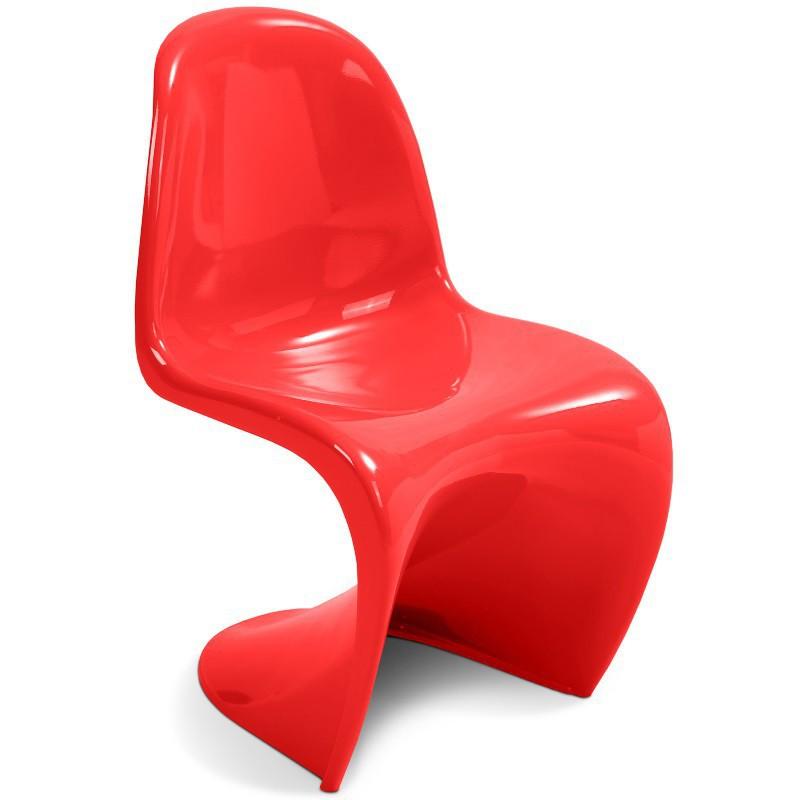 chaise panton rouge sabannes r ception. Black Bedroom Furniture Sets. Home Design Ideas