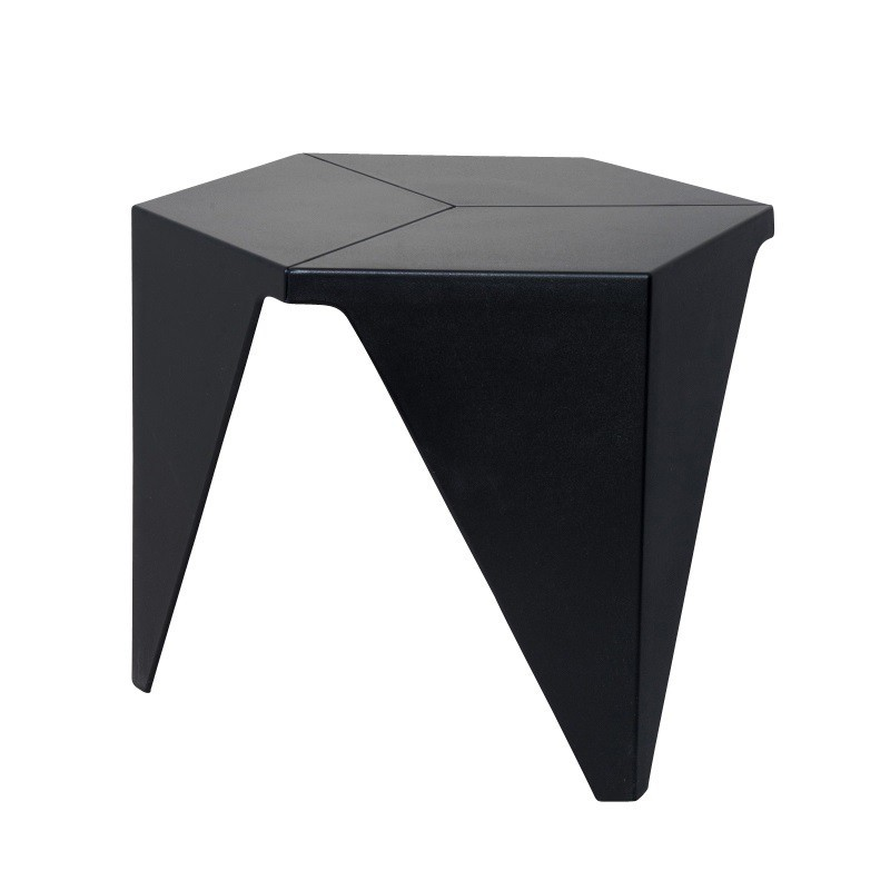 Table basse cadix noire sabannes r ception - Tables basses noires ...
